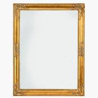 Ogledalo NORDBORG 70x90 zlatna