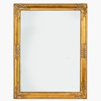 Ogledalo NORDBORG 70x90cm zlatna