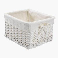 Basket GORM W27xL32xH20cm white