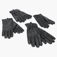 Leren handschoenen TRIAL heren/dames