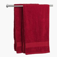 Bath towel KARLSTAD red KRONBORG