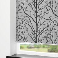 Rolgordijn BARKEN 100x170cm grijs/zwart