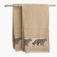 Ręcznik MALUNG 70x140cm beżowy KRONBORG