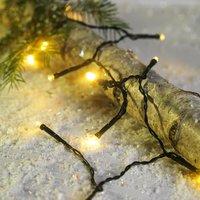 String lights BAUGE w/120LED and timer