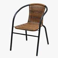 Krzesło GRENAA naturalne