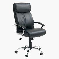 Krzesło biurowe GADBJERG p.termo/czarne