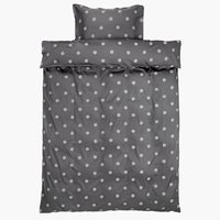 Duvet cover ANE Sateen 140x200 grey
