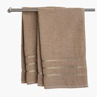 Πετσέτα μπάνιου YSBY 65x130 μπεζ