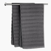 Bath sheet TORSBY grey