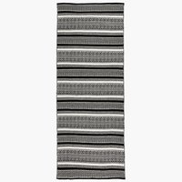 Kleed STORBORRE 80x200 zwart/wit