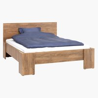 Bed frame VEDDE Super King wild oak