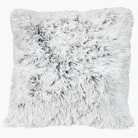 Zierkissen LOTUS 50x50 weiß/grau
