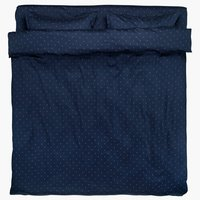 Спално бельо с чаршаф STELLA TQ синьо