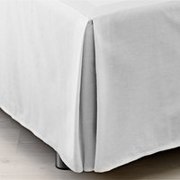 Valance sheet S.KING white KRONBORG
