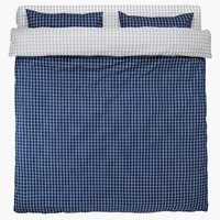 Спално бельо с чаршаф KARIN TQ синьо