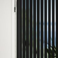 Vertical Blind ROGEN 150x250cm black