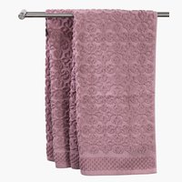 Bath towel STIDSVIG rose KRONBORG