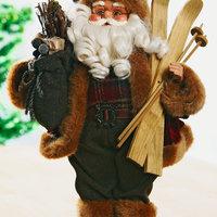 Santa Claus GARM s lyžemi V41 cm