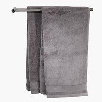 Fürdőlepedő NORA 70x140 szürke KRONBORG