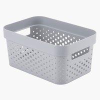 Koš INFINITY 4,5 L plast šedá