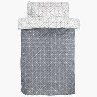 Спално бельо с чаршаф ATLA SGL сиво