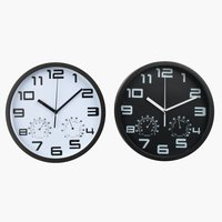 Wall clock SEJER D25cm ass.