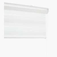 Roller blind Duo IDSE 100x180cm white
