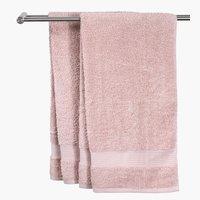 Рушник KARLSTAD 70x140 рожевий KRONBORG