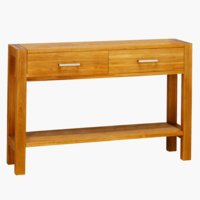 Console table SILKEBORG oiled oak