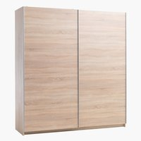 Wardrobe SATTRUP 201x219 oak