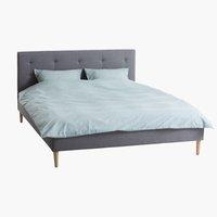 Sänkykehikko MILLINGE 160x200 v.harmaa