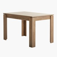 Dining table VEDDE 80x120 oak