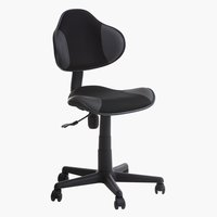 Office chair REGSTRUP black/grey