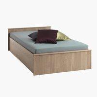 Рамка за легло GENTOFTE 90x200 дъб
