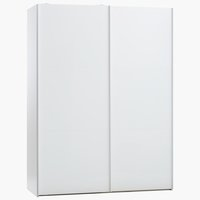 Wardrobe TARP 151x201 white high gloss