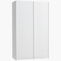 Wardrobe TARP 120x201 white high gloss
