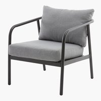 Lounge stolica RADSTED siva