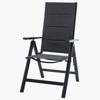 6-asentoinen tuoli MYSEN harmaa