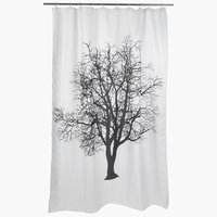 Shower curtain MARIEBY 180x200 white
