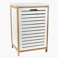 Wasmand BROBY B45xL37xH65 natural/wit