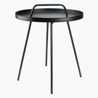 Table d'appoint IDRE Ø45xH52 noir