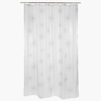 Shower curtain SVARTVIK 180x230 white