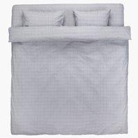 Спално бельо с чаршаф KAJSA DBL