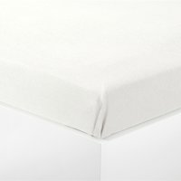 Cearsaf flanel 140x250cm alb