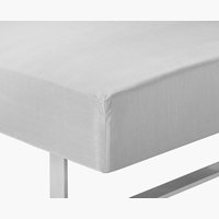 Fitted sheet S.KING light grey KRONBORG