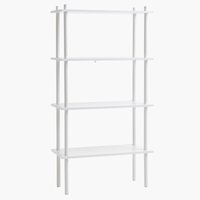 Shelving unit TEGLUM 4 shlv. white