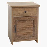 Nachttisch MANDERUP 1 Schublade Wild Oak
