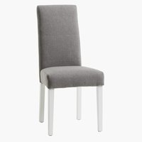 Dining chair TEGLMOSE light grey/white