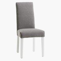 Ruokapöydän tuoli TEGLMOSE v.harmaa/valk