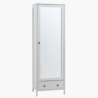 Hallway unit TERPET w/mirror white